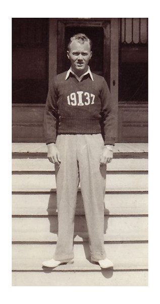 1934 May 29 Morris Miller, Captain of Intramural Athletics at Texas A&M University.