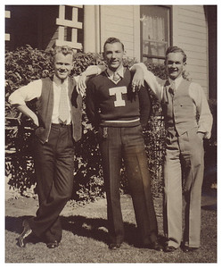1934 Fraternity Brothers, University of Texas, Austin.