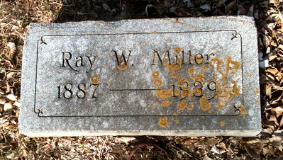 1939 Ray Wellington Miller Birth date:	8 May 1887 Death date:	19 Jun 1939 Graceland Cemetery, Sioux City, IA