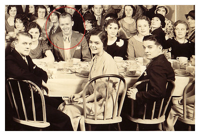 1933 April 19 Morris Miller, Student Council president, National Business Training School Banquet, YMCA.