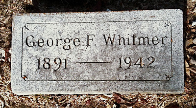 1942 George Frederick Whitmer Birth date:	31 May 1891 Death date:	8 May 1942 Graceland Cemetery, Sioux City, IA