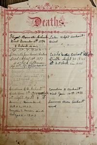 Arehart Family Bible circa 1890-1945