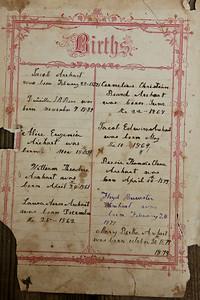 Arehart Family Bible circa 1832-1973