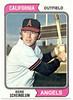 Richie Scheinblum<br /> California Angels baseball card