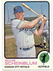 Richie Scheinblum<br /> Kansas City Royals baseball card