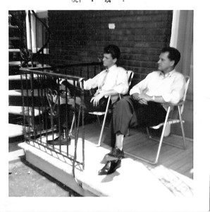 ACHILLE & VINCENT BLANCHARD - MONTREAL - OCT 1964