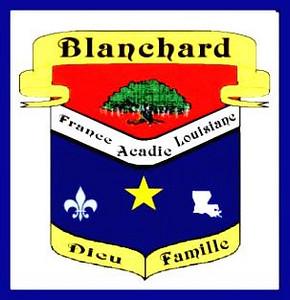 ARMOIRIES BLANCHARD - ACADIE