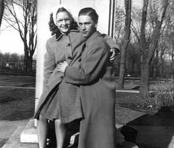 VINCENT BLANCHARD IRENE HACHE - 1945