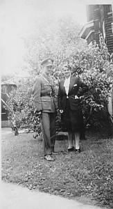 ÉMILE TURCOT et sa tante ÉLÉONORA BLANCHARD