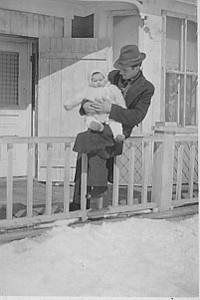 GRANDE-ANSE LÉANDRE BLANCHARD - DENISE BLANCHARD (11 mois) 12 mars 1939