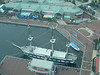 USS Constellation (aerial view)