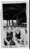 Eva Schaffer and Benjamin Antin.  Coney Island, 1920
