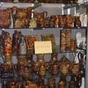 A beautiful collection of pitchers, jugs and mugs.