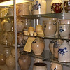 Early distillery vessels from John Norton's pottery shop.