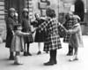 European trip, 1923<br /> <br /> Naomi Bloom (left, in light colored coat), Ruth Bloom (right, in light colored coat)