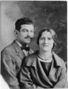 Passport photo, 1925<br /> <br /> Milton Grey, Lenna Bloom