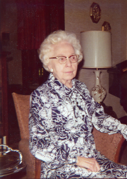 Annie (Boucher) Nolin, about 1983