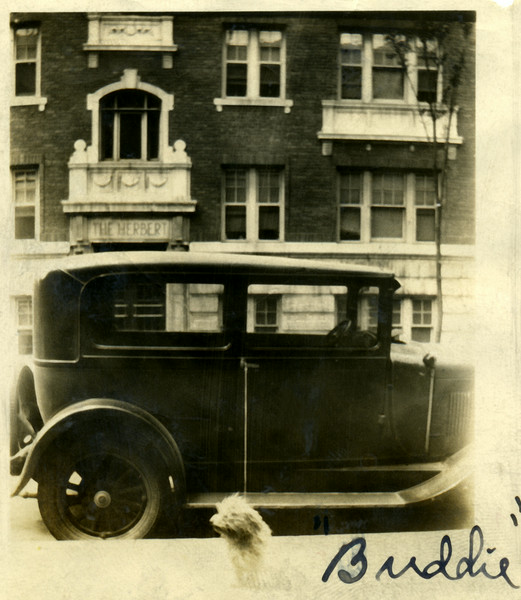 The Herbert Apartments were located at 244 Courtland in Atlanta.  The Caldwell family lived at 458 Courtland.