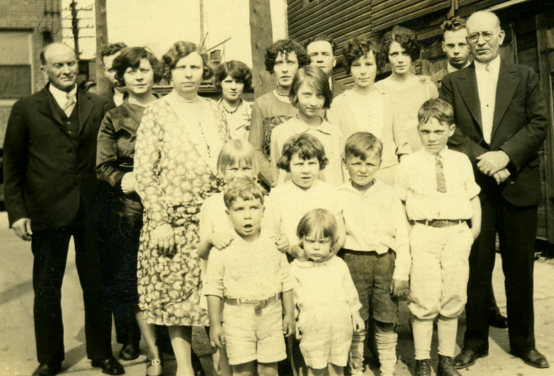 The Caldwell Family in 1927
