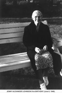 Jenny Johnson 91st Bday A