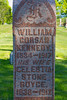Plot 246, Row 21<br /> William<br /> Corsan<br /> Kennedy<br /> 1834 - 1917<br /> his wife<br /> Celestia<br /> Stone<br /> Royce<br /> 1838 - 1912