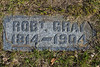 Plot 196, Row 18<br /> Robt. Gray<br /> 1814 - 1904