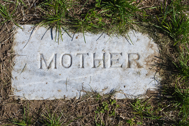 Plot 46, Row 3<br /> Mother [Elizabeth Corson Kennedy]