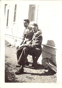 Norman Carl, Lawrence Owen boarders at Aunt Lucy Harris'