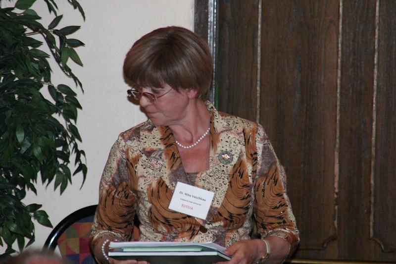 Dr. Nina Vaschkau of Volgograd State University.