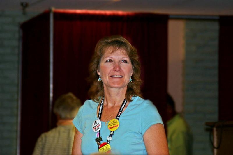 Diane White of the AHSGR staff.