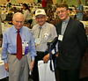 Art Flegel of Meno Park, California; Howard Guenthner of Laurel, Montana; and Pastor Alexander Scheiermann from Saratov, Russia.