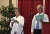 Music leaders for the Sunday services were Corinne Koehler and Del Beck