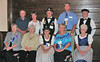 The <b><i> GRHS Dakota Pioneers Chapter</i></b> of Bismarck. Front row: Margaret Ternes, Edna Boardman, Sandra Kaul, JoAnn Wangler, and Mildred Thurn.  Back row: Vern Bender, Darlene Bender, Herb Kaul, Val Wangler, and Herb Thurn. Thanks to Ken Koehler for providing us with the photo....and Val Wangler and Sandra Kaul for helping us get the names straight!