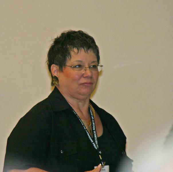 AHSGR staff member Pam Wurst.