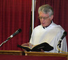 Rev. Don Stewart of Casper led the non-denominational worship and memorial service on Sunday morning, August 3rd
