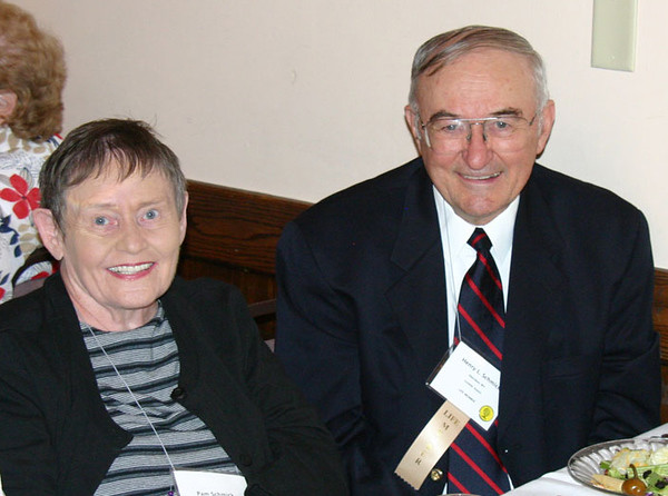 Pam and Henry Schmick from Sheridan, Wyoming.