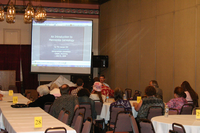 Mennonite Genealogy was among the many convention topics.