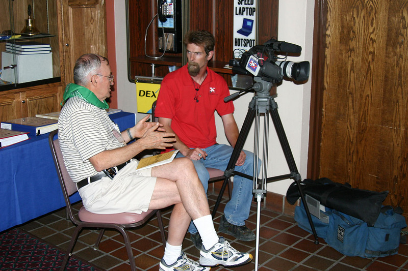 KTWO-TV visited the convention.