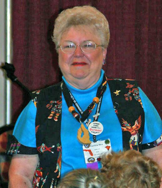 Patricia Neu of Delhi, California was a runner-up in the Western attire contest!