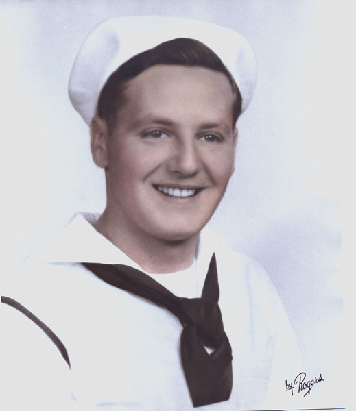 Donald Will Barrett USNR 1941