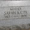 Sarah A. Cox 1813-1896, Sister of Benjamin