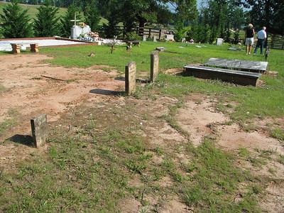 New Hope Baptist Church Cemetery, Fredonia, Chambers County, Alabama