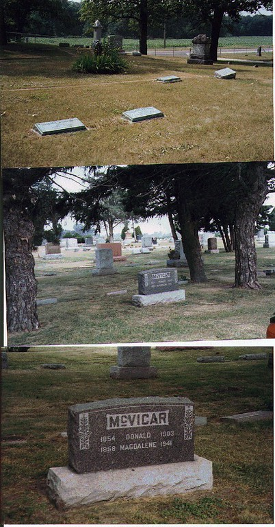 Cemetery Headstones for Genealogy