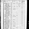 Census 1850 - NY Oyster Bay (Isaac-Mary Willets Coles)p1