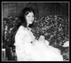Kathy Perry with daughter, Sarah Chouinard, on Sarah's christening day, 1975.