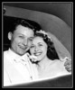 Estelle (Frechette) & Steve Kisley on their wedding day; June 28, 1952.
