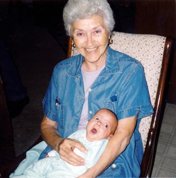 """Grandma & Sean"""