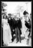 (l-r) Cecile & George Chouinard, Oliver Robarge & Alvina Chouinard on George & Cecile's wedding day; May 17, 1947.