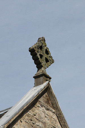 Detail above the south gable end. 29 April 2012
