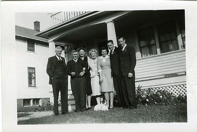 Al Kraedeman, Sanford & Eva, Georgie Kraedeman, ?, Frank & Ray